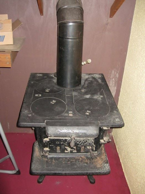 "25"" Cast Iron Stove"