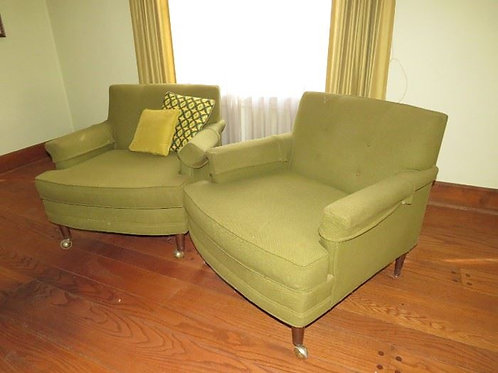 2 Mid-Century Modern Chairs