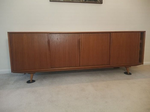 Vejle Stole Credenza, one leg needs repair as shown in pictures Excellent Finish