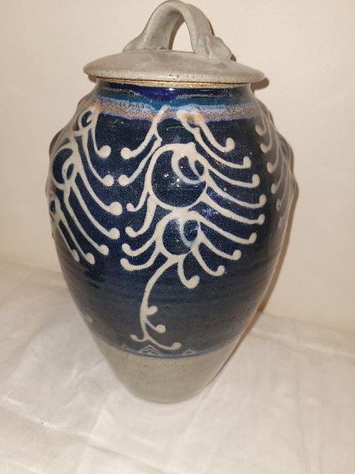 "Studio Art Pottery Vessel - 22"""