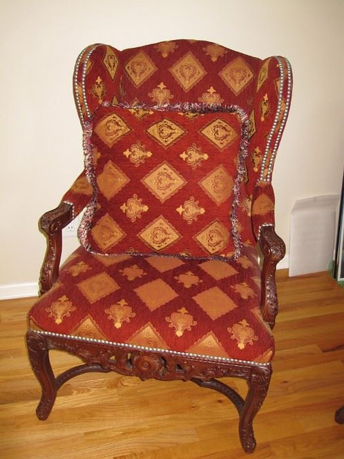 """Drexel Heritage Arm Chair excellent condition, 42"""" T and 26"""" W"""