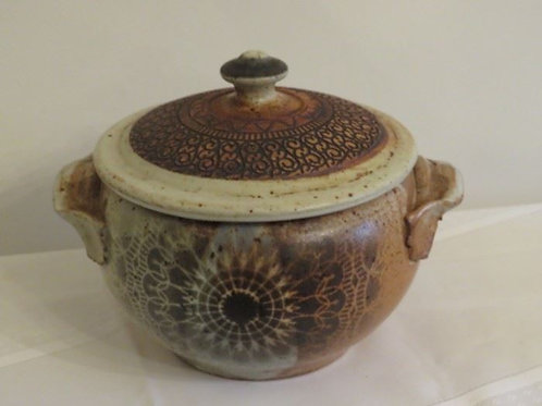 "Studio Art Pottery Pot 9"", no chips"