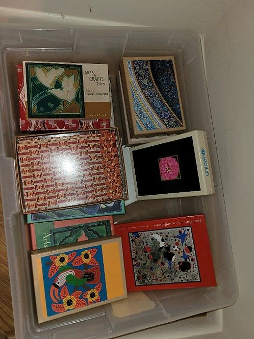 Box of Greeting Cards