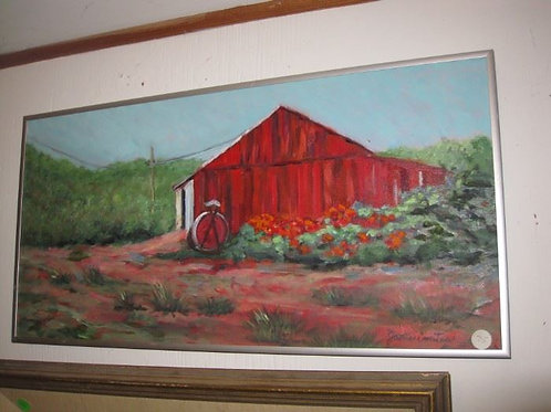 """Red Barn by J. Coates 24/12"""""""