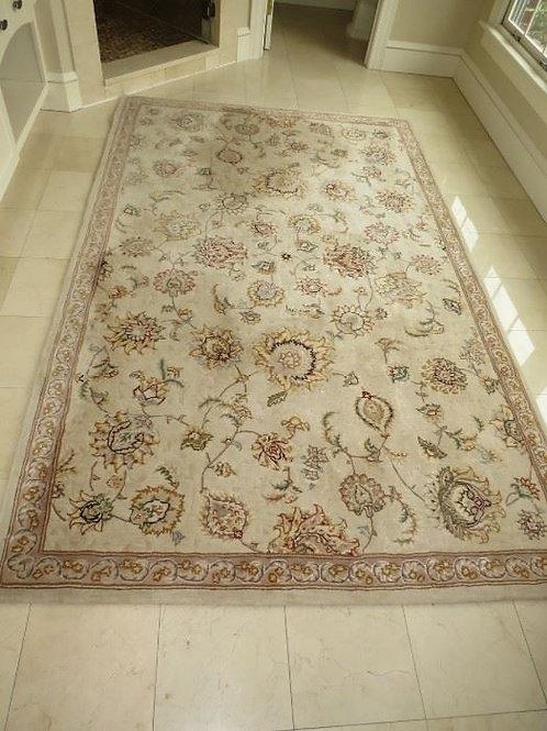 Wool Paisley Floral Rug