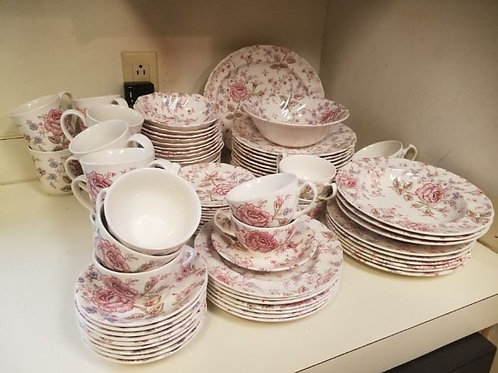Johnson brothers rose chintz Service for 12