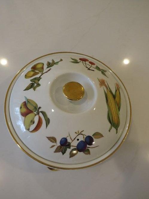 Royal Doulton Eversham Casserole Dish w/ Gold Rim