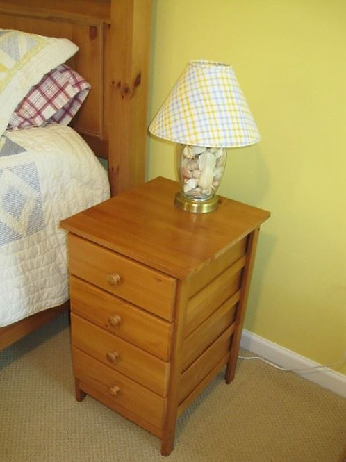 """4 drawer pine chest, 24"""" Tall"""