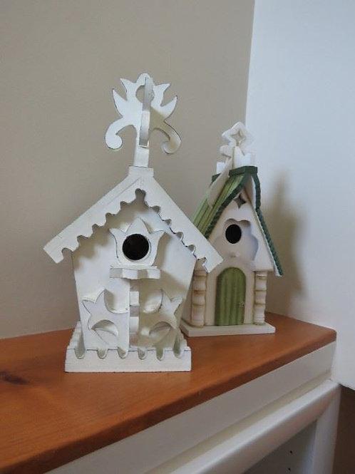 """2 Birdhouses 14"""""""