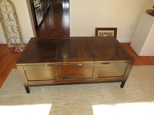 Coffee Table- Opens for Storage