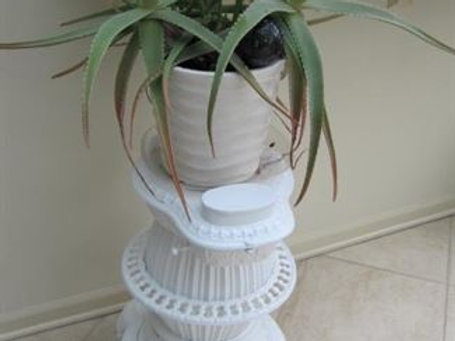Cast Iron stove plant stand