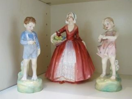 3 Royal Doulton Figurines