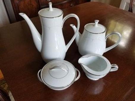 Noritake Whitehall China service for 10 plus coffee pot etc.
