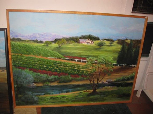 """Orchard View by J. Coates, 50/40"""""""