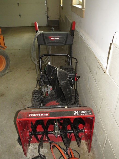 "Craftsman 24"" electric start Snow blower"