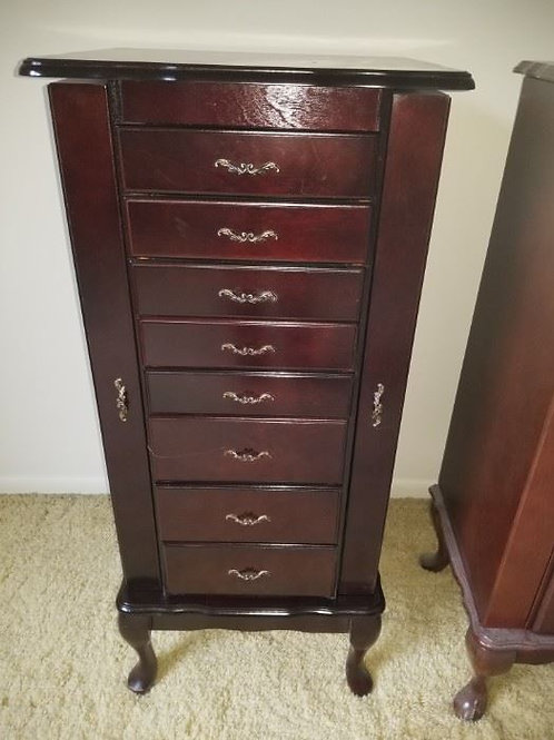 "Jewelry Chest 39"" tall, good condition"