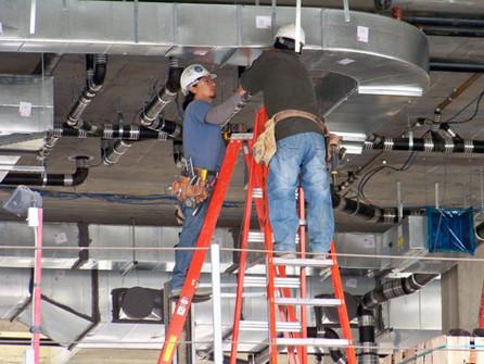 Регламент работ при техническом обслуживании вентиляции.