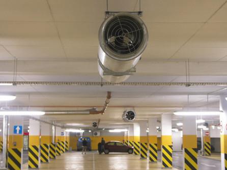 Основные нормы при проектировании систем вентиляции автостоянок, гаражей, парковок.