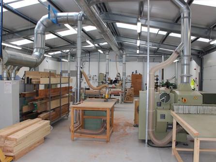 Вентиляция деревообрабатывающих цехов