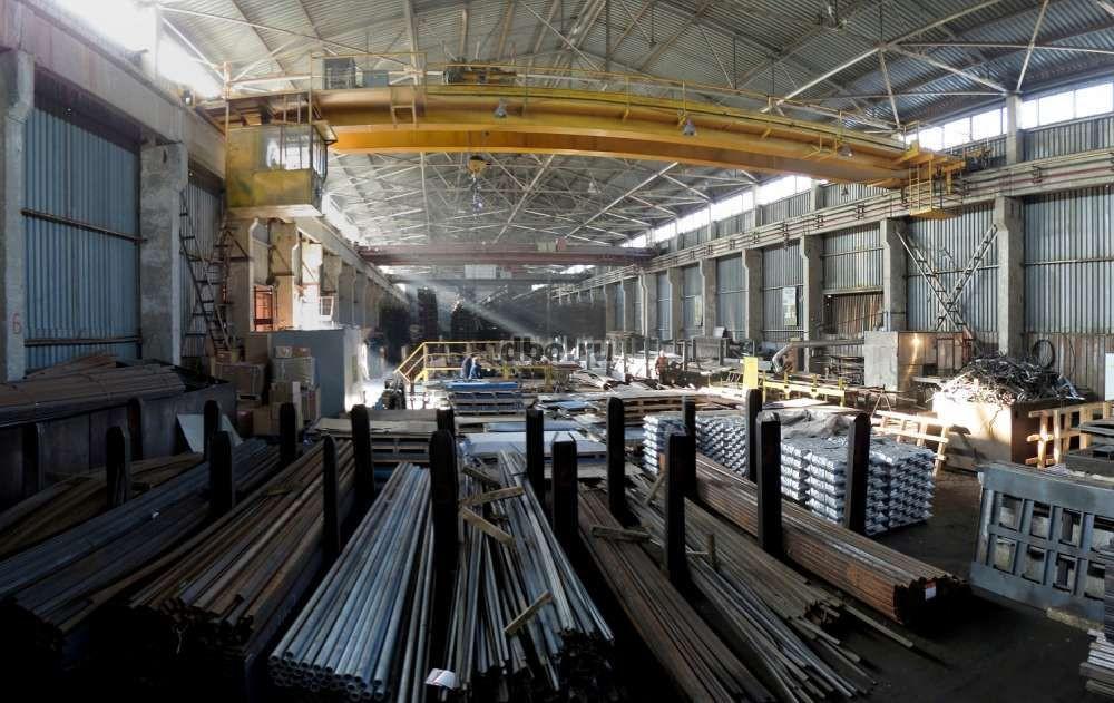 Вентиляция на складе металла