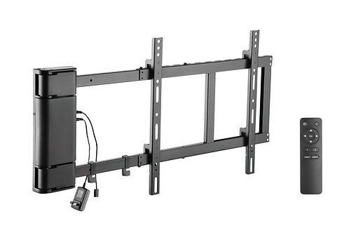 """ynVISION Motorized Swing Wall Mount Bracket for 32""""-60"""" TV with Remote Control"""