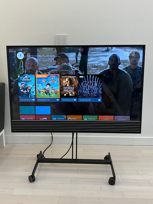 Bang & Olufsen BeoVision Horizon 48 w/ Floor Stand and BeoRemote ONE BT