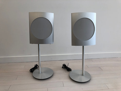 BeoLab 17 Silver w/ Floor Stands