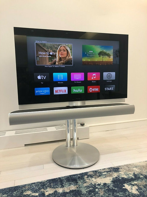 Bang & Olufsen BeoVision 7-40 with Motorized Floor Stand | Blu-Ray Player