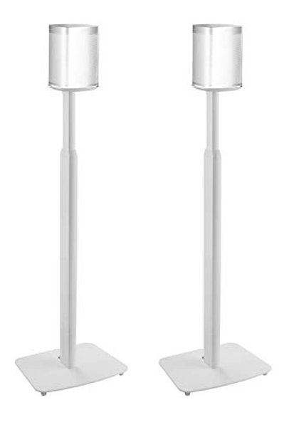 ynVISION Adjustable Floor Stands for Sonos One, One SL, Play:1 | 2 Pack
