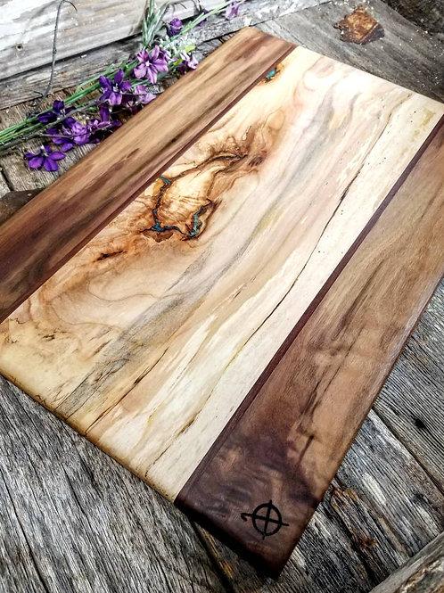 Walnut, Katalox, & Spalted Maple