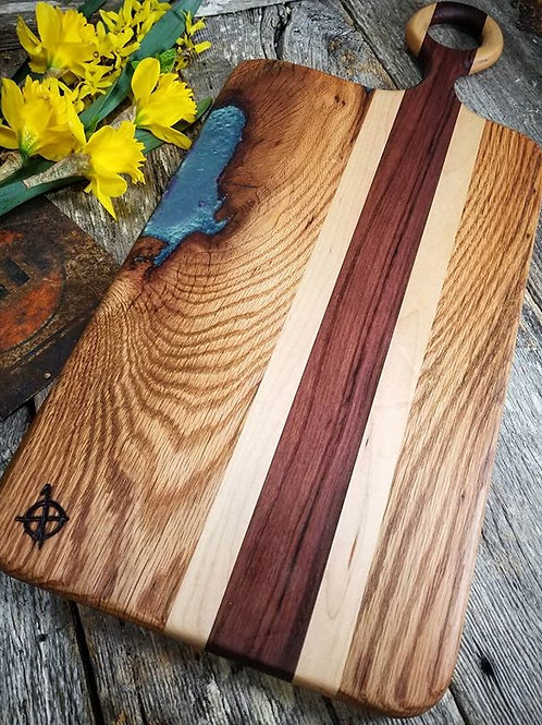 Red Oak, Maple and Katalox