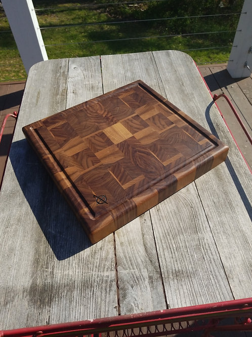 Walnut End Grain