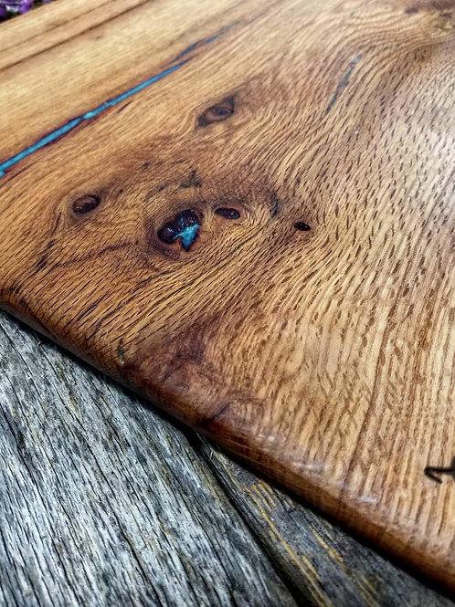 Century Old Quarter-Sawn Red Oak