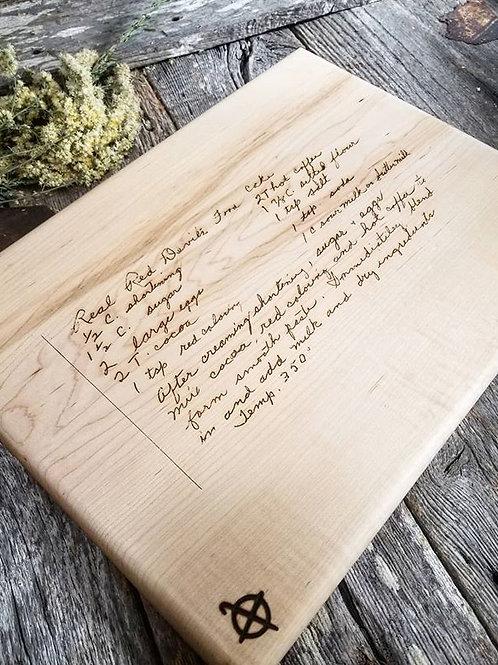 Maple Memento Board