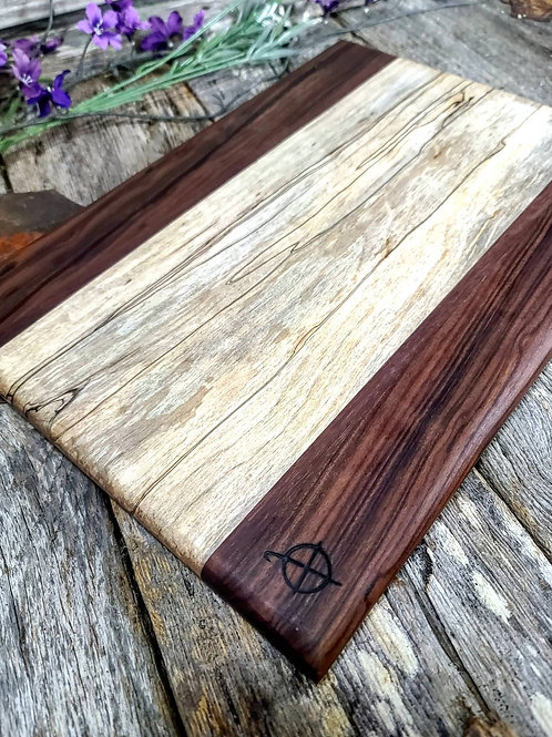 Bolivan Rosewood & Spalted Maple