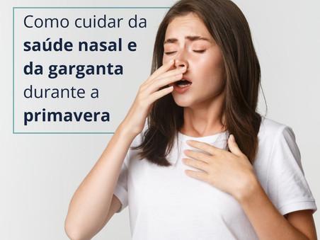 Cuidados importantes para a saúde nasal e da garganta durante a primavera