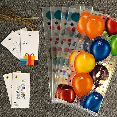 Kit Embalagens Presente