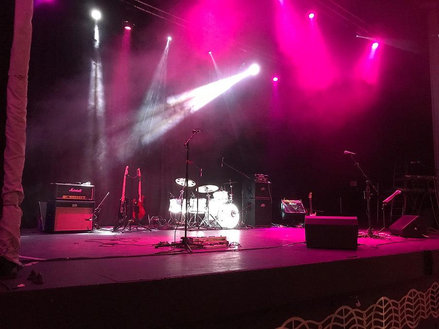 Jon Riley live setup