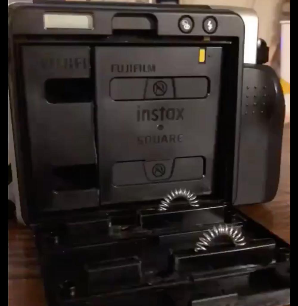 How to shoot Fuji Instax square film in a Fuji Instax Wide 300