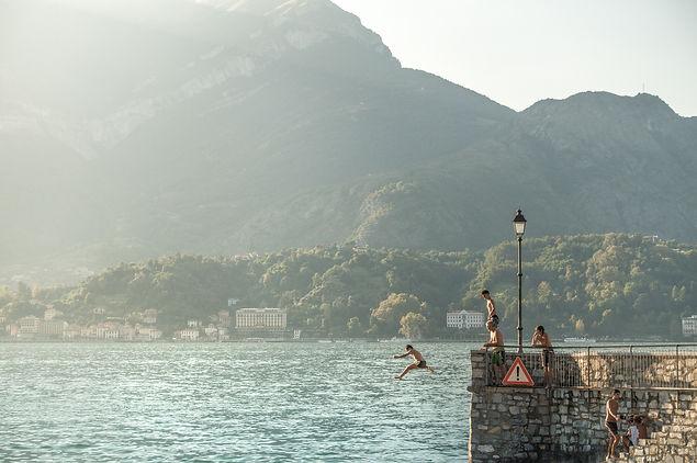 Lugano and Como