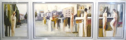 1243.-A-Day-in-Tel-Aviv---acrylic-on-canvas---120-x-70-cm---50-x-70-cm-x-2