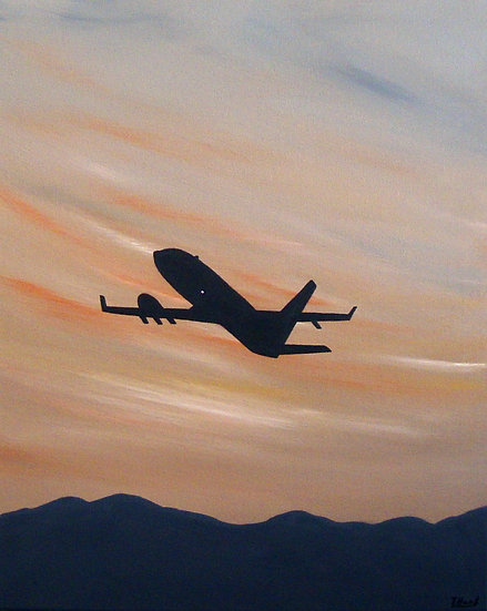 Flight into Sunset