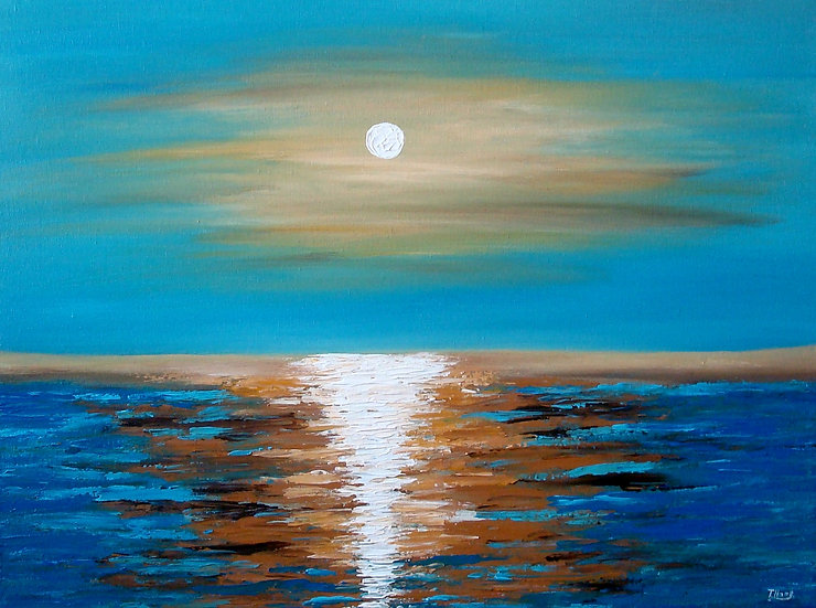 Mystical Sunset, SOLD
