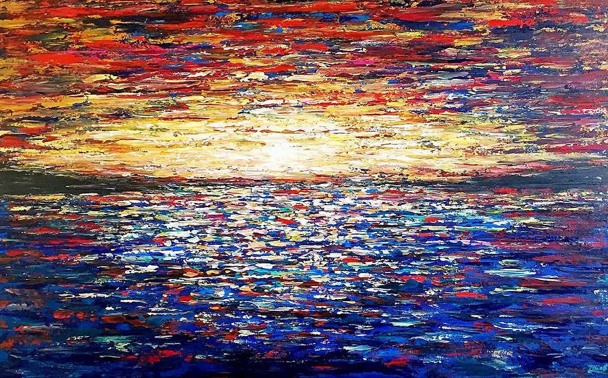 Colored Ocean, SOLD