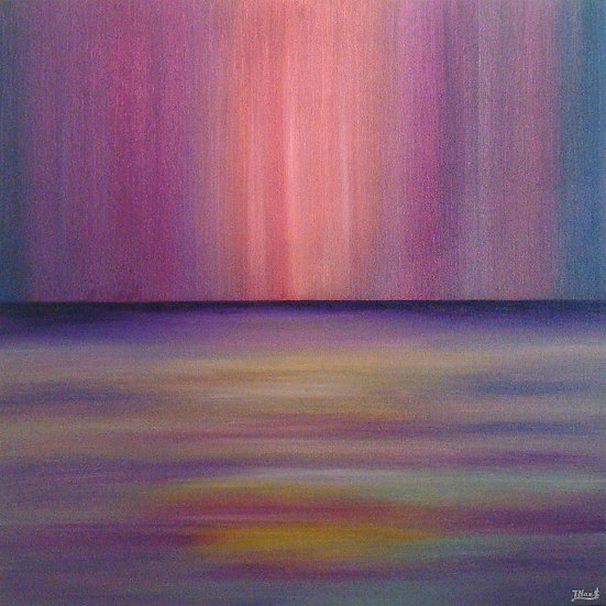 Where the Sea meets the Sky (Magenta Dusk), SOLD