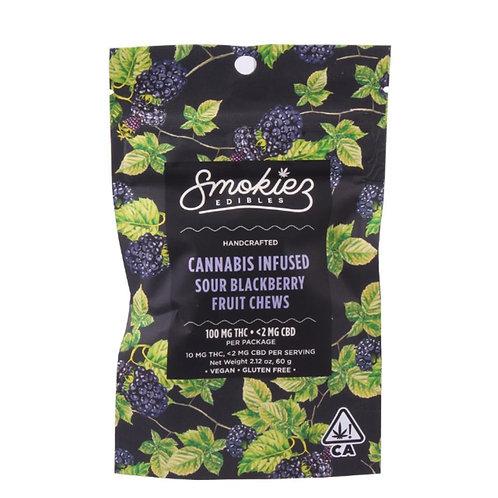 Smokies Edibles - Sour Blackberry Fruit Chews