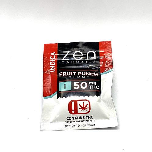 Zen Cannabis - Fruit Punch Gummy (Indica)