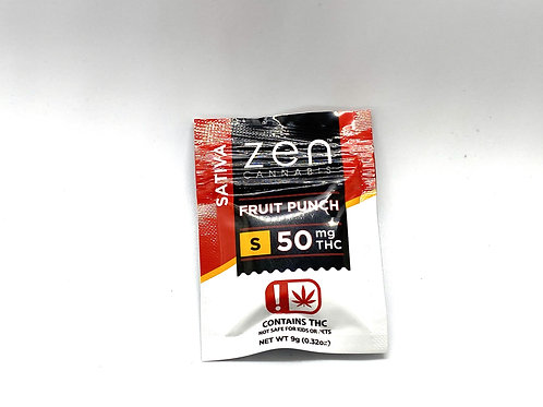 Zen Cannabis - Fruit Punch Gummy (Sativa)