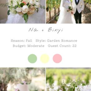 NA + BINYI - CHATEAU ST JEAN KENWOOD WEDDING