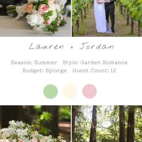LAUREN + JORDAN - BERINGER NAPA WEDDING